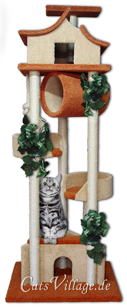 kratzb ume von catsvillage der individuelle kratzbaum. Black Bedroom Furniture Sets. Home Design Ideas
